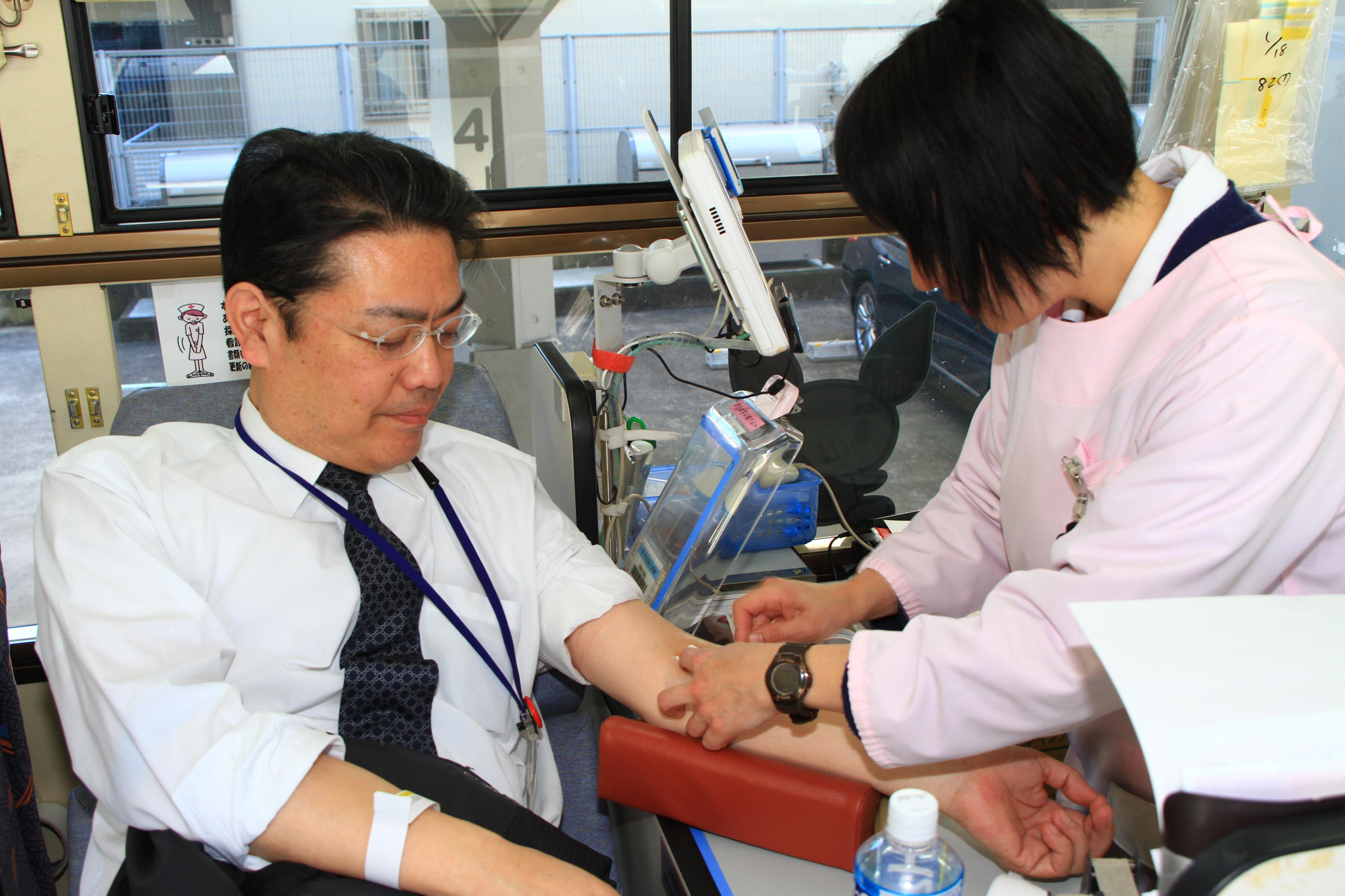 P7右下 完成・献血