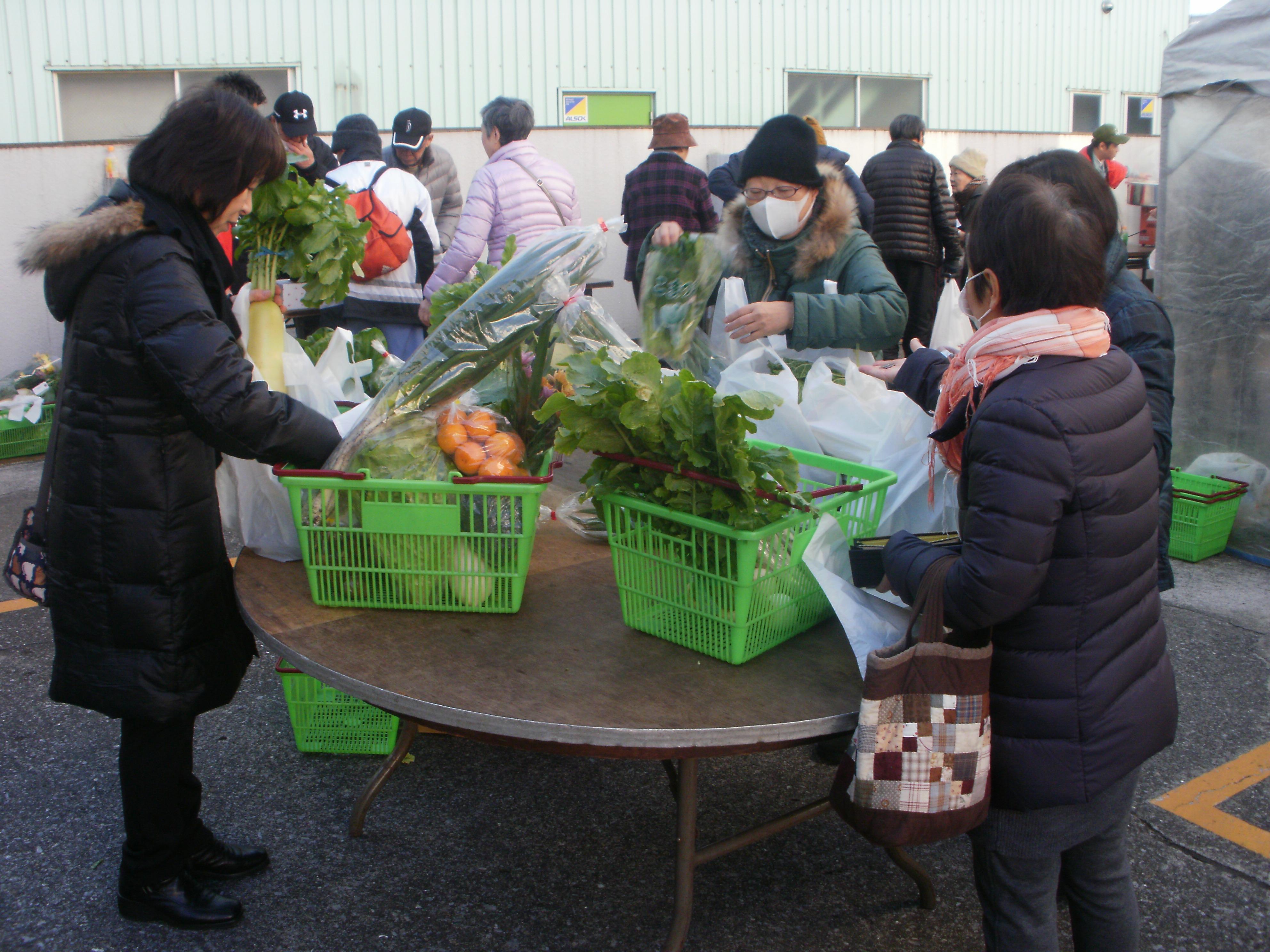 第26回農協まつりを開催(蕨支店)