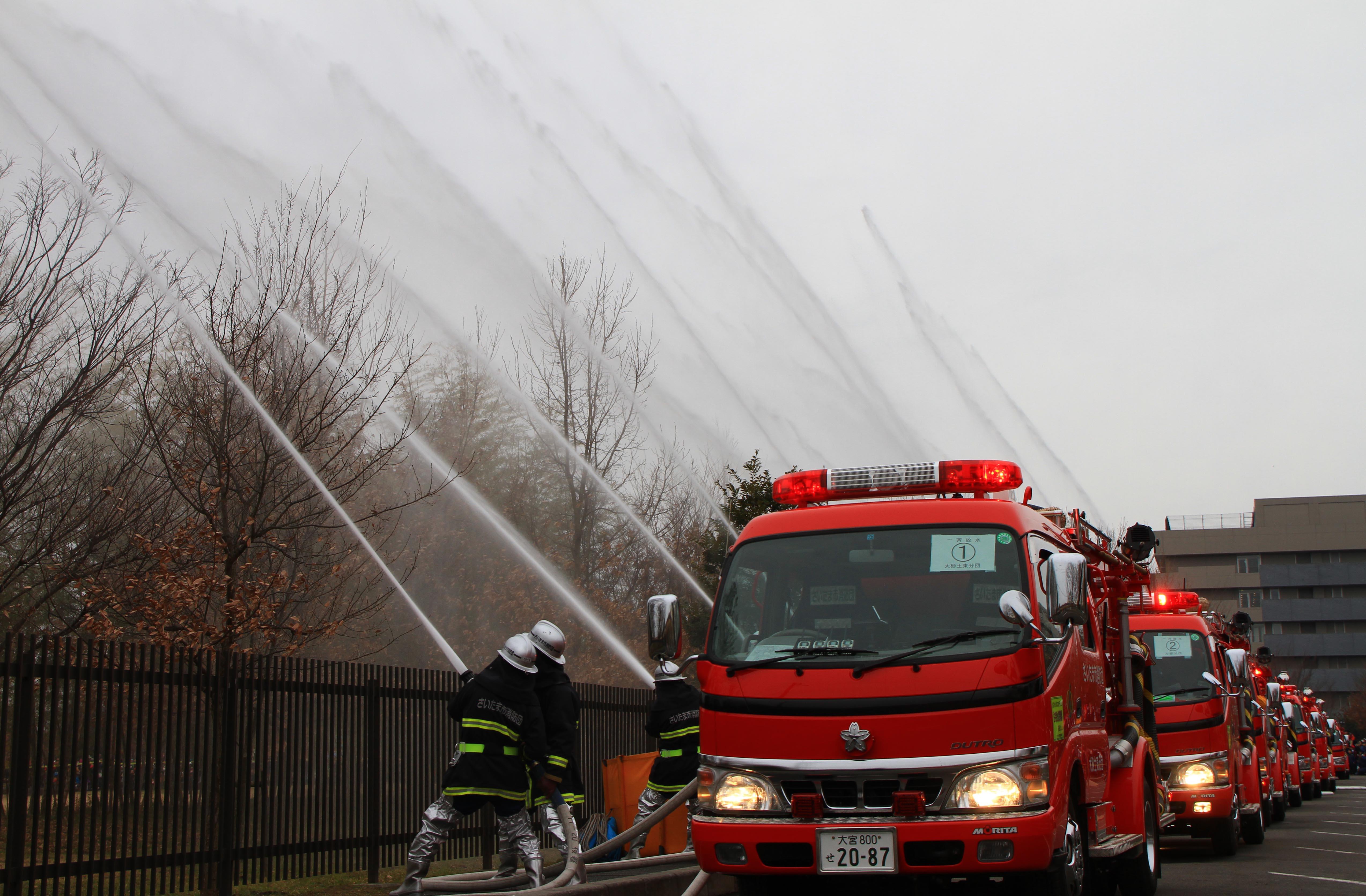 さいたま市消防出初式(大宮支店)