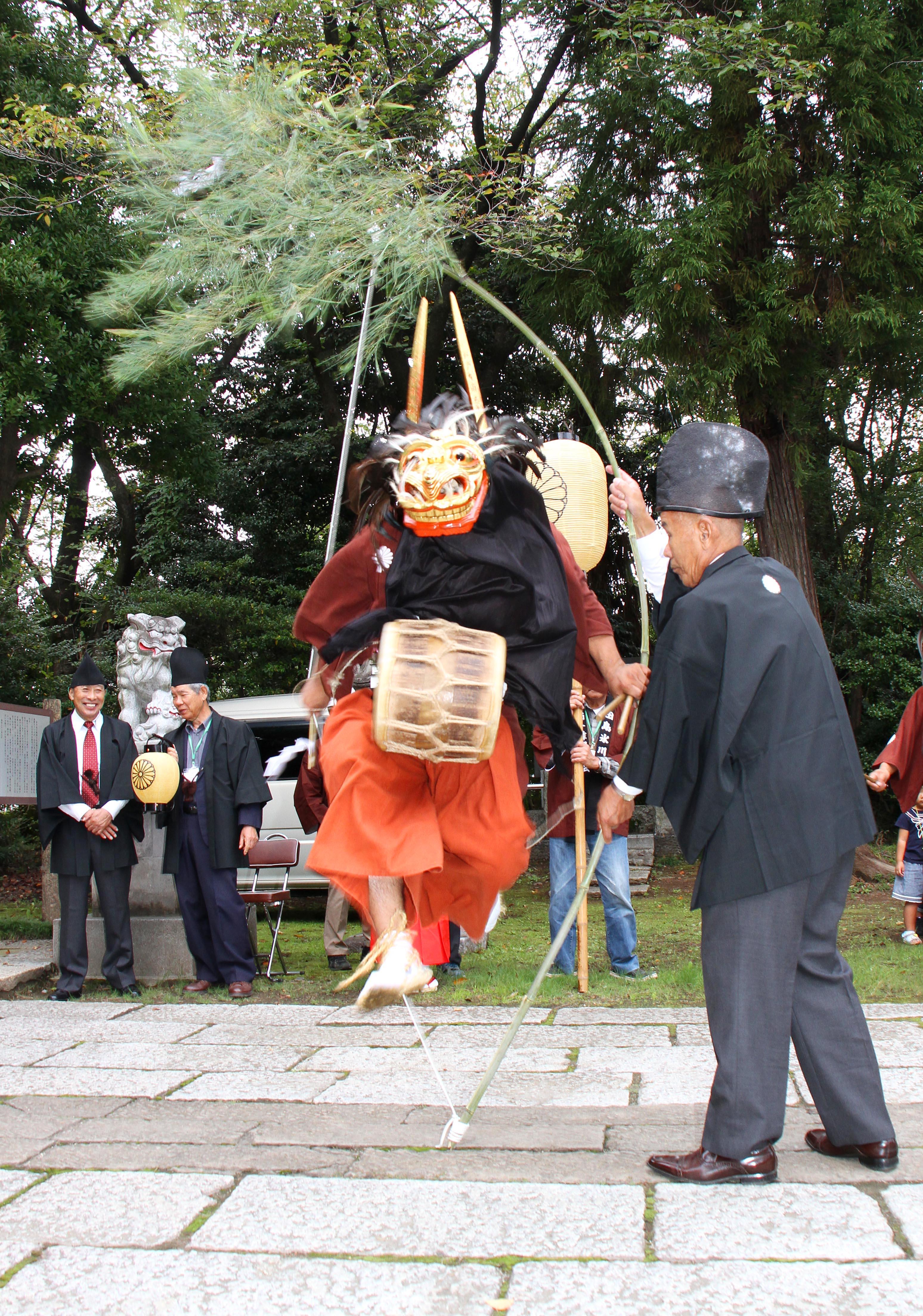田島の獅子舞(土合支店)