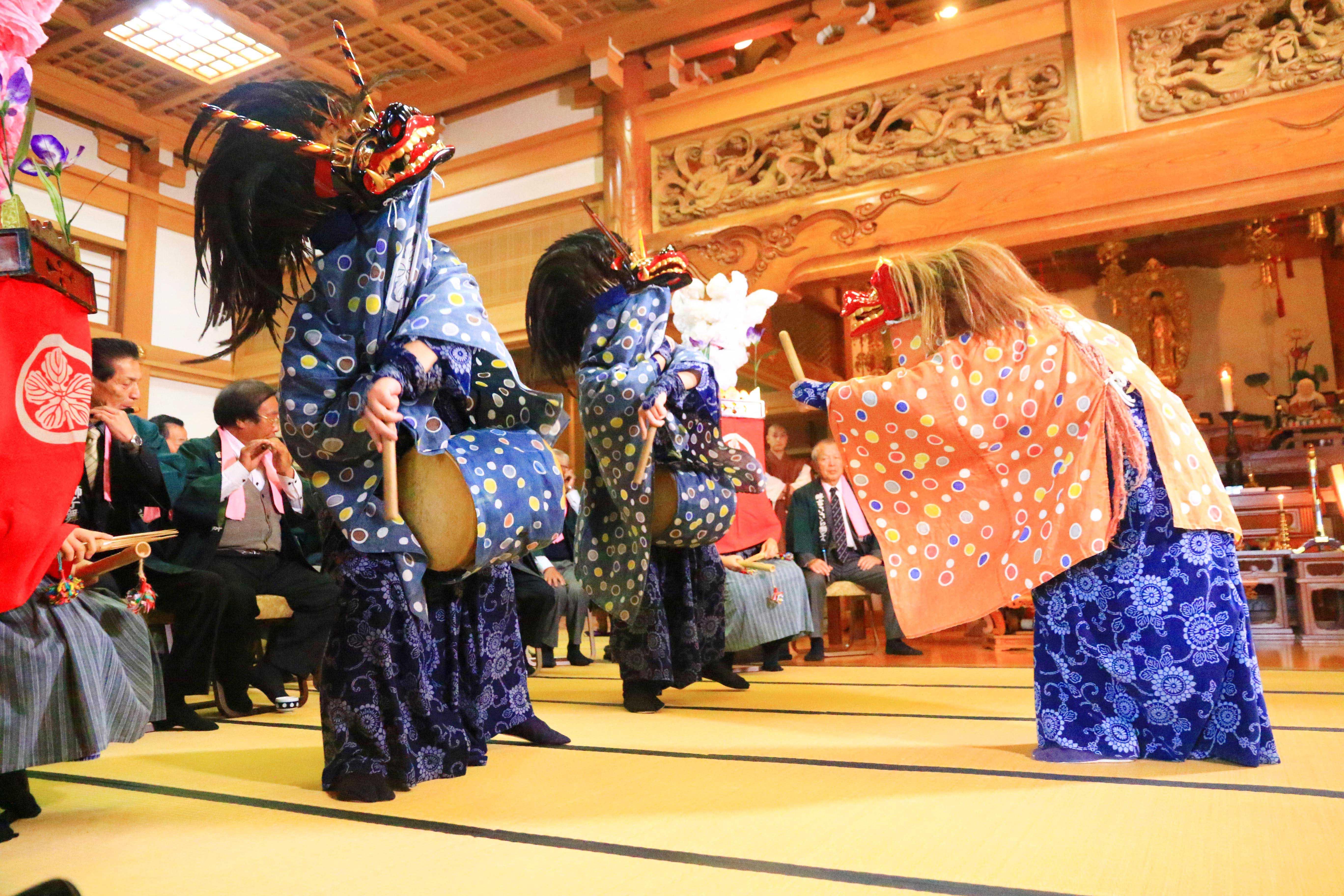 農業新聞・JAさいたま・20171015・畔吉ささら獅子舞 (3)