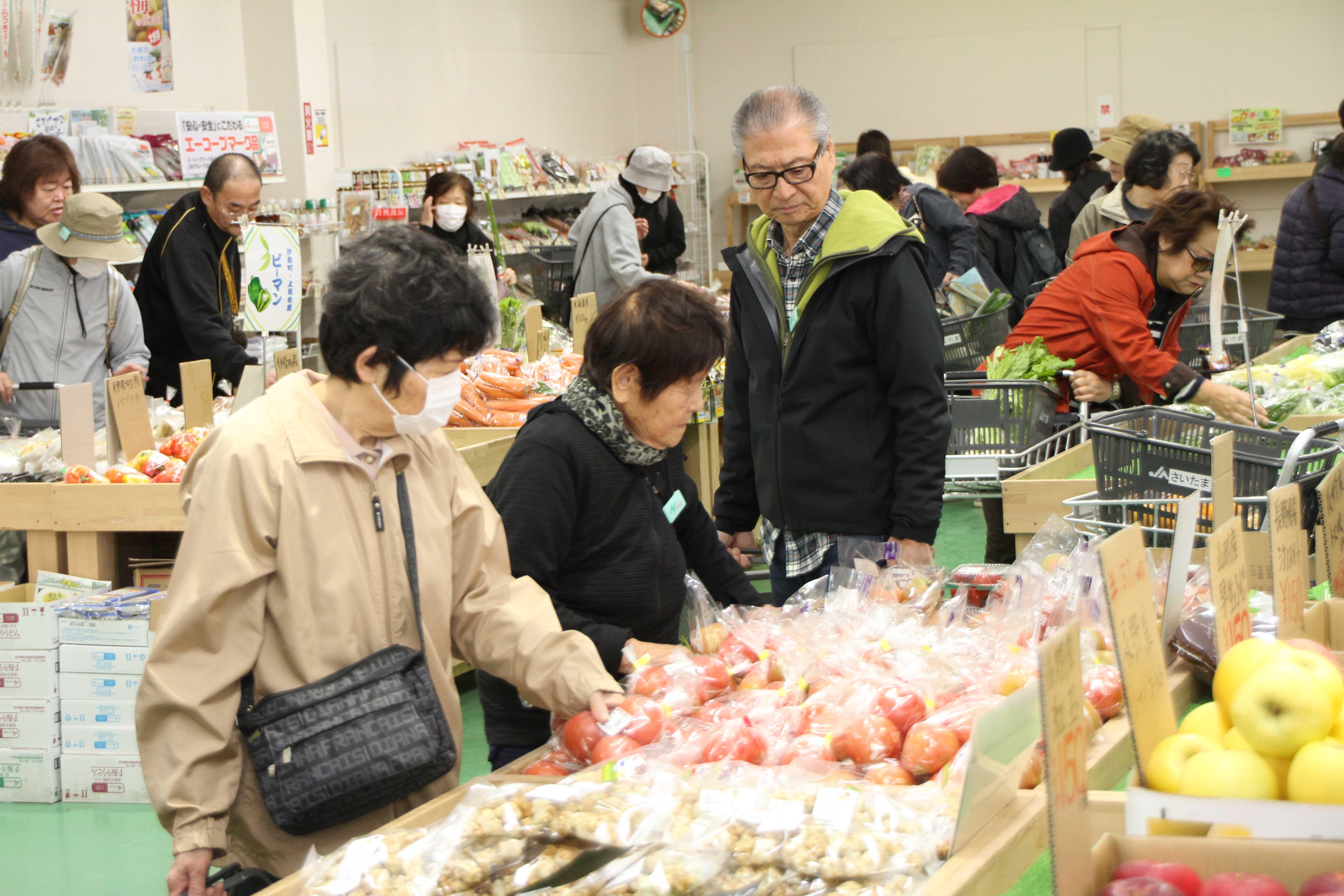 P5左下 「埼玉県内のJA直売所へ行こう!」を満喫