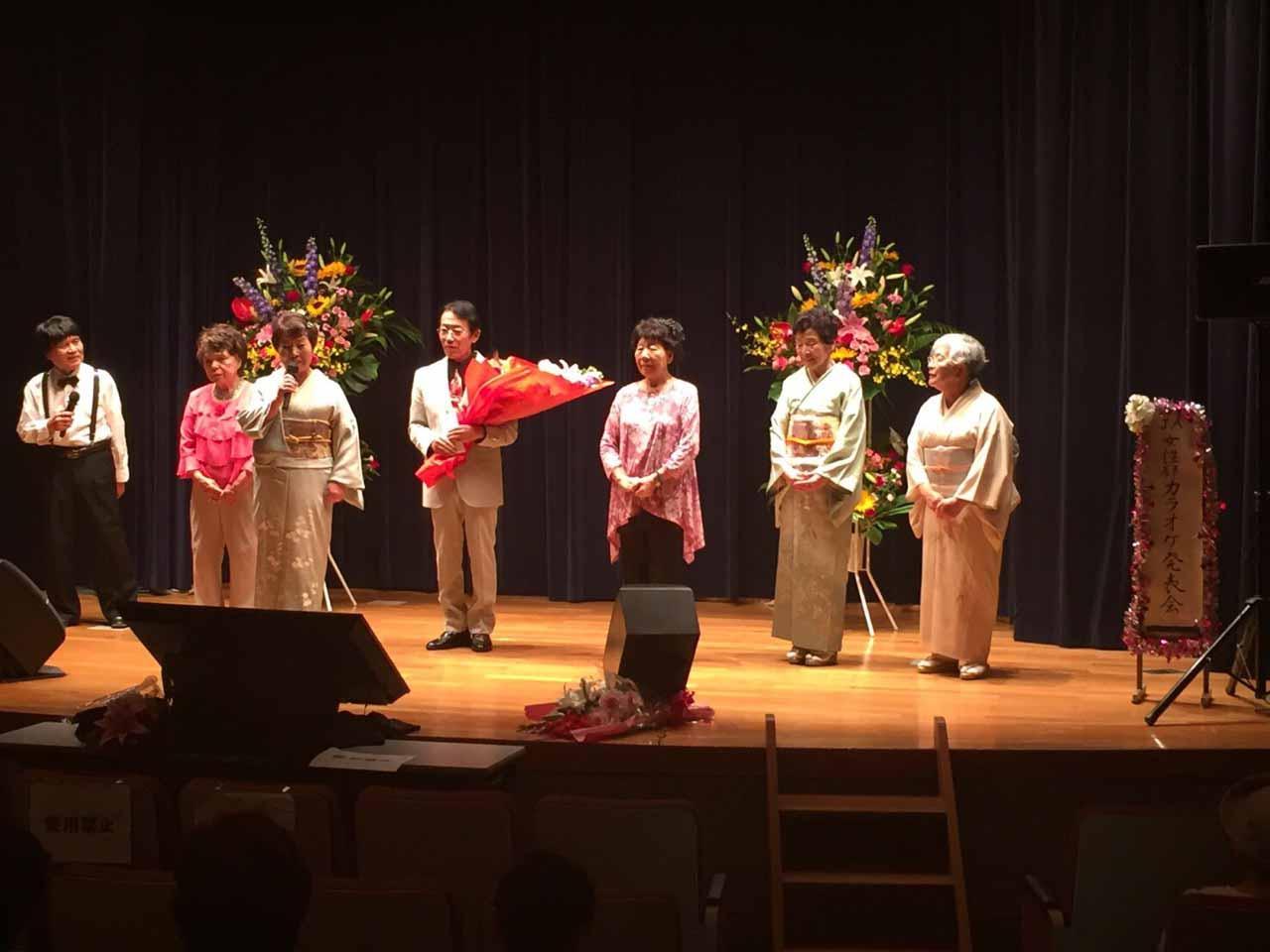 カラオケ発表会 120人が参加(東大宮支店:さいたま市)